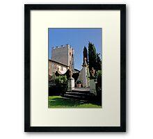 Garden Steps Framed Print