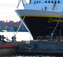 National Geographic Explorer Moored by M-EK