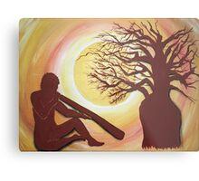 'Baobab  Dreaming' Metal Print
