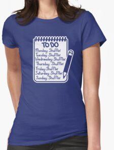 Shufflin Womens Fitted T-Shirt