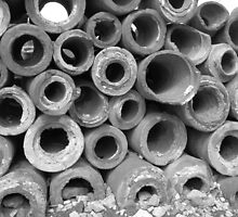 Age-old Pipes of Ephesus by M-EK