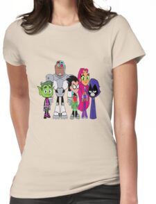 Teen Titans Go!  Womens Fitted T-Shirt