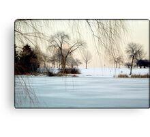 Winter © Canvas Print
