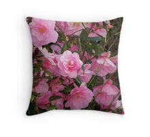 For Mum happy Mothers Day Throw Pillow