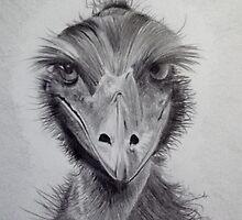 'Aussie Emu' by jansimpressions