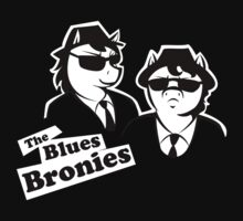 The Blues Bronies by midorilotus