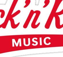 Rock 'n' Roll – Music (Red) Sticker