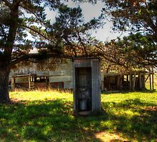 Vacant   Old Out House ( toilet ) Shearing Shed Bungendore NSW  by Kym Bradley