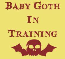 Baby Goth In Training - Kids Kids Tee