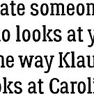 Date Someone Who - Klaroline by HarmonyByDesign