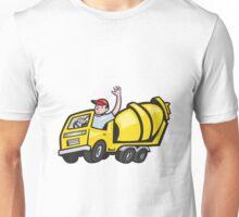 Construction Worker Driver Cement Mixer Truck  Unisex T-Shirt