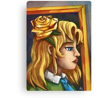 Mary from Ib Canvas Print