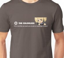 The Colorless Design 1337 Unisex T-Shirt