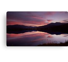 Reflections of Bogong Canvas Print