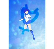 Agent of Water and Wisdom, Sailor Mercury Photographic Print