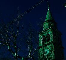 vecchio campanile.......sera by ventofreddo