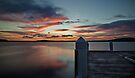 Swansea Wharf Sunset by bazcelt