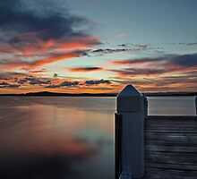 Swansea Wharf Sunset by bazcelt