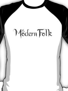 'Modern Folk' White T-Shirt