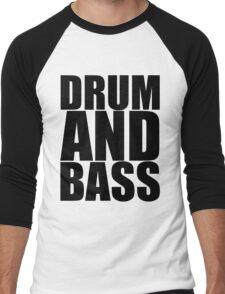 DRUM AND BASS  Men's Baseball ¾ T-Shirt