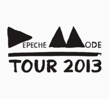 Depeche Mode : Tour 2013 - Depeche Mode - Black by Luc Lambert