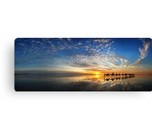 Cable Beach Icons Canvas Print