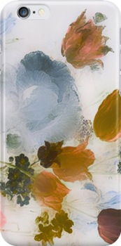 Vintage Floral Art Case by simpsonvisuals