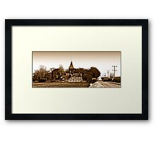 Sunk Island, East Riding of Yorkshire Framed Print