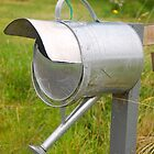 Watering Can Mailbox by Penny Smith
