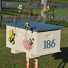 Sweet Honeybee Mailbox by Penny Smith