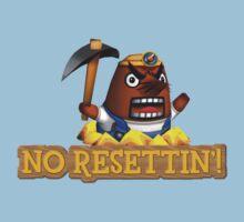 No Resettin'! Kids Tee