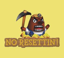 No Resettin'! One Piece - Short Sleeve
