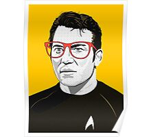 Star Trek James T. Kirk (William Shatner) Pop Art  illustration Poster
