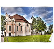 Pilgrimage Church of the Scourged Saviour - Steingaden Poster