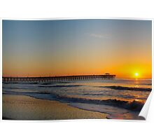 Sunday Morning Sunrise Myrtle Beach SC  Poster