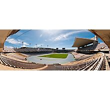 Olympic Stadium, Barcelona (Panorama) Photographic Print