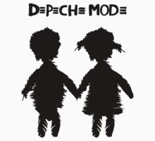 Depeche Mode : Angels Boy and Girl - 2 - Black by Luc Lambert