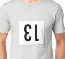 Race number 13 Unisex T-Shirt