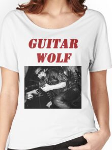 GUITAR WOLF 01 Women's Relaxed Fit T-Shirt