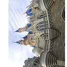 Cinderella's Castle Magic Kingdom by sweetsisters