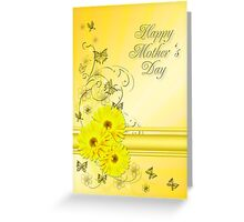 Mothers day card with daisies Greeting Card