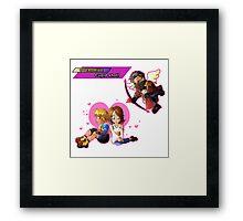 Overdrive: Cupid Shot! Framed Print