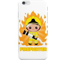 Cute FireFighter OY iPhone Case/Skin