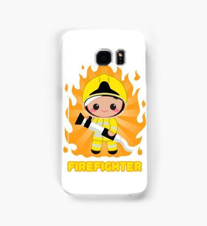 Cute FireFighter OY Samsung Galaxy Case/Skin