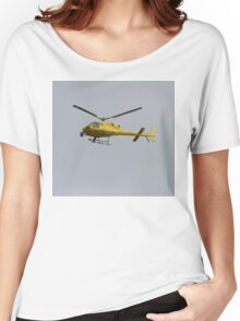 Yellow Helicopter Women's Relaxed Fit T-Shirt