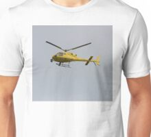 Yellow Helicopter Unisex T-Shirt