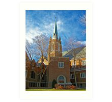First Lutheran Church Art Print