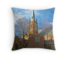 First Lutheran Church Throw Pillow