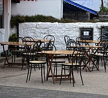 Empty Tables,Empty Chairs by lynn carter
