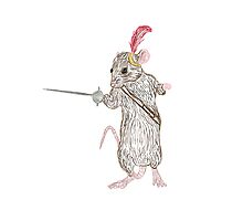 Narnia Reepicheep, the bravest of mice by rexelrat